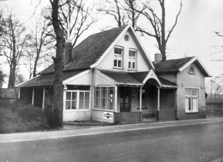 Café het Tolhuis aan de Haaksbergseweg Historische Kring